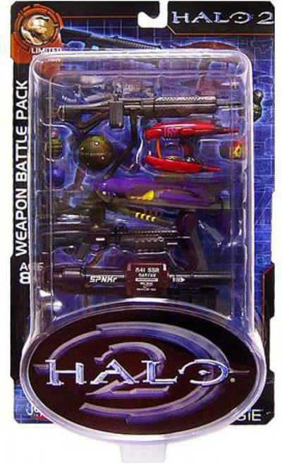Halo 2 Weapons Pack Exclusive Action Figure Accessory