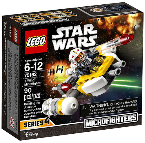 LEGO Star Wars Rebels Microfighters Series 4 Y-Wing Microfighter Set #75162