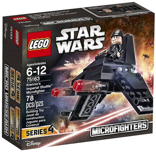 LEGO Star Wars Rebels Microfighters Series 4 Krennic's Imperial Shuttle Microfighter Set #75163
