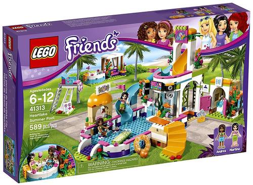LEGO Friends Heartlake Summer Pool Set #41313