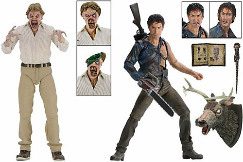 NECA Evil Dead 2 30th Anniversary Hero Ash & Evil Ed Action Figure 2-Pack