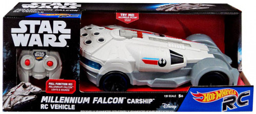 Hot Wheels Star Wars Millennium Falcon Carship R/C Vehicle
