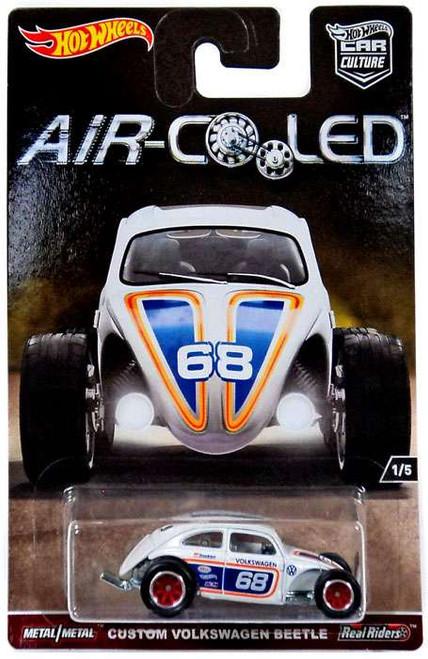 Hot Wheels Car Culture Air-Cooled Custom Volkswagen Beetle Diecast Car #1/5