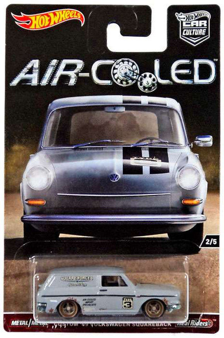 Hot Wheels Car Culture Air-Cooled Custom '69 Volkswagen Squareback Die-Cast Car #2/5