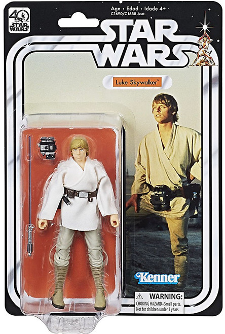 Star Wars Black Series 40th Anniversary Wave 1 Luke Skywalker Action Figure