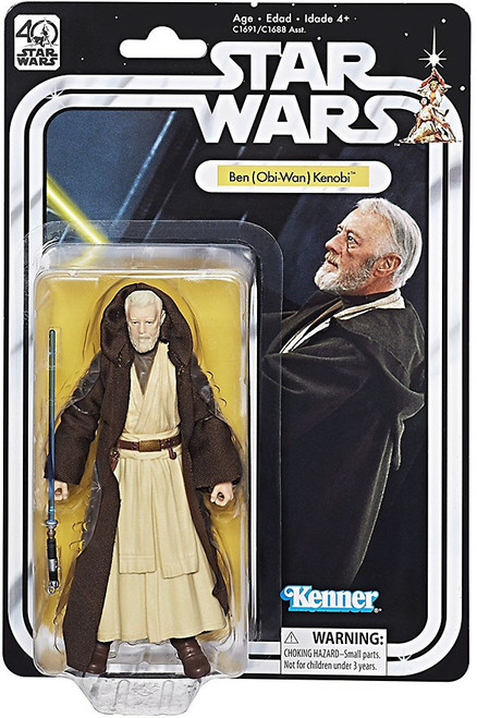 Star Wars Black Series 40th Anniversary Wave 1 Ben (Obi-Wan) Kenobi Action Figure
