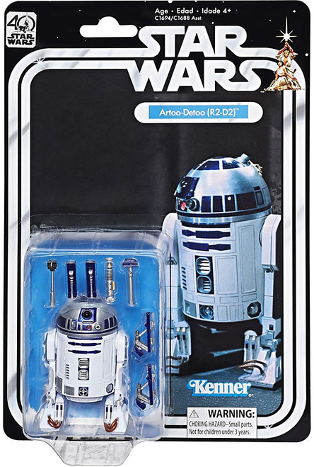 Star Wars Black Series 40th Anniversary Wave 1 R2-D2 Action Figure
