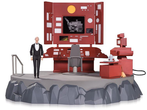 Batman The Animated Series Batcave with Alfred Action Figure Playset