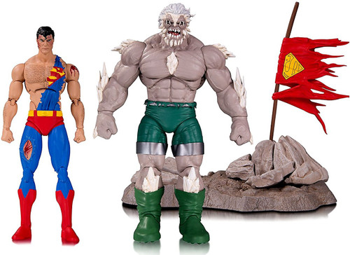 DC Comics Icons Doomsday & Superman Action Figure 2-Pack [Death of Superman]