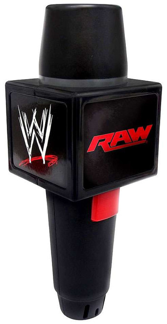 WWE Wrestling RAW Echo Microphone Roleplay Toy