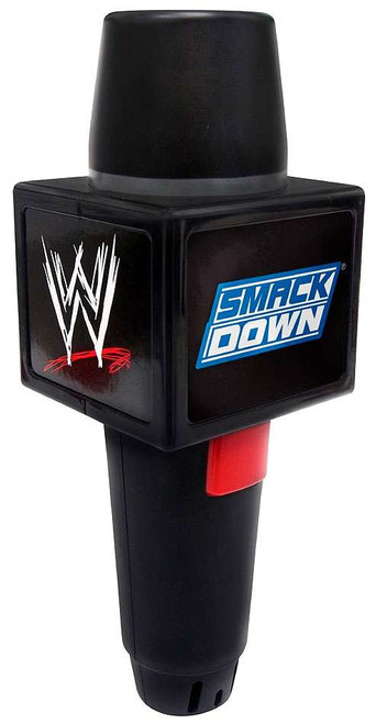 WWE Wrestling Smack Down Echo Microphone Roleplay Toy