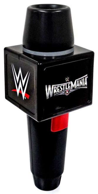 WWE Wrestling WrestleMania Echo Microphone Roleplay Toy