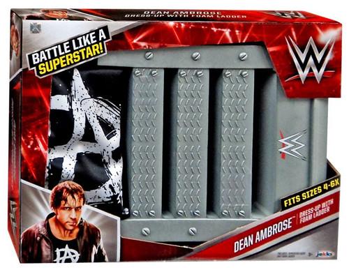 WWE Wrestling Dean Ambrose Dress-Up with Foam Ladder Roleplay