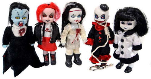 Living Dead Dolls Minis Series 3 Set of 5 Dolls [No Package]