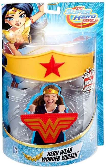DC Super Hero Girls Hero Wear Wonder Woman Roleplay Toy