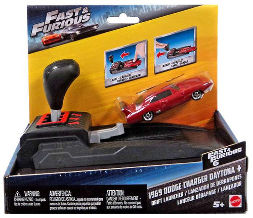 The Fast and the Furious Drift Launcher 1969 Dodge Charger Daytona Vehicle