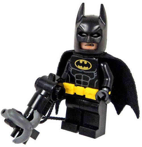 DC LEGO Batman Movie Batman with Grappling Hook Gun Minifigure [Loose]