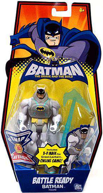 The Brave and the Bold Battle Ready Batman Action Figure [Damaged Package]