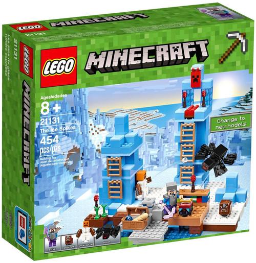 LEGO Minecraft The Ice Spikes Set #21131