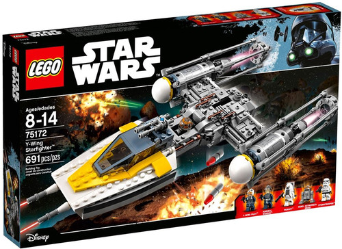 LEGO Star Wars Y-Wing Starfighter Set #75172