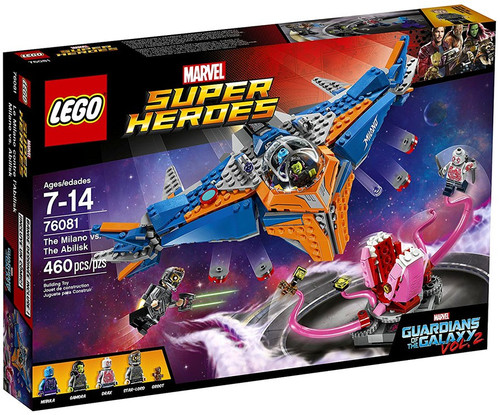 LEGO Marvel Super Heroes Guardians of the Galaxy Vol. 2 The Milano vs. The Abilisk Set #76081
