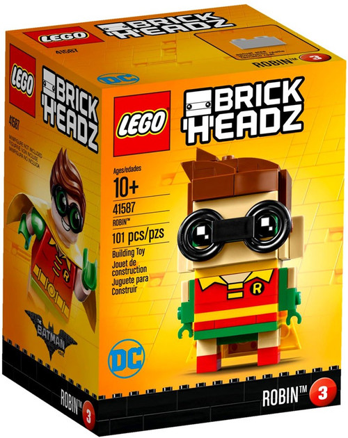 LEGO DC Super Heroes Brick Headz Robin Set #41587