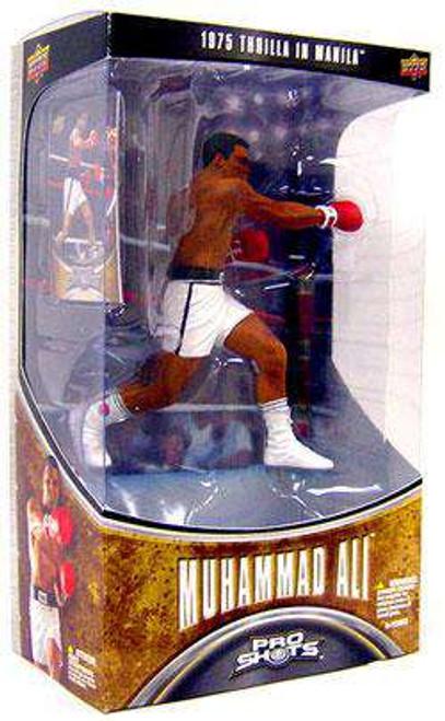 Boxing Pro Shots Series 1 Muhammad Ali Action Figure [1975 Thrilla In Manila, Damaged Package]