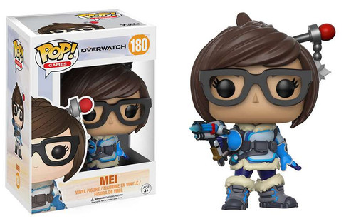 Funko Overwatch POP! Games Mei Vinyl Figure #180