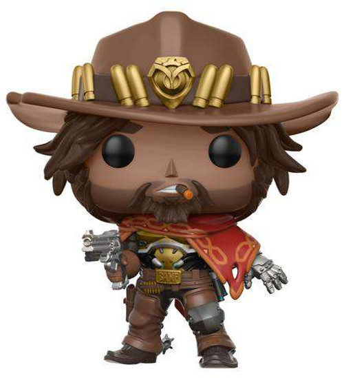 Funko Overwatch POP! Games McCree Vinyl Figure #182