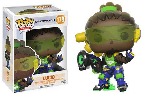 Funko Overwatch POP! Games Lucio Vinyl Figure #179