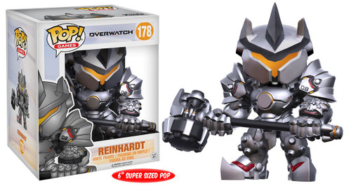 Funko Overwatch POP! Games Reinhardt 6-Inch Vinyl Figure #178 [Super-Sized]