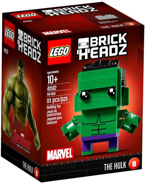 LEGO Marvel Avengers Age of Ultron Brick Headz The Hulk Mini Set #41592
