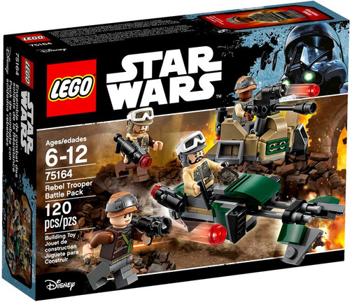 LEGO Star Wars Rebel Trooper Battle Pack Set #75164