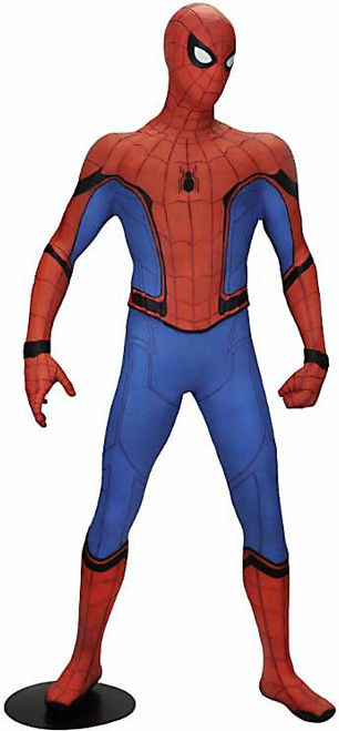 NECA Marvel Spider-Man: Homecoming Spider-Man 68-Inch Life-Size Foam Replica
