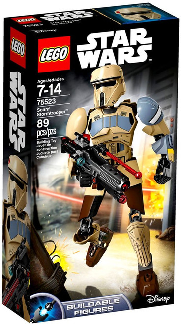 LEGO Star Wars Buildable Figures Scarif Stormtrooper Set #75523