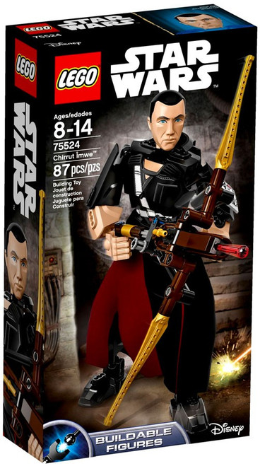 LEGO Star Wars Buildable Figure Chirrut Imwe Set #75524