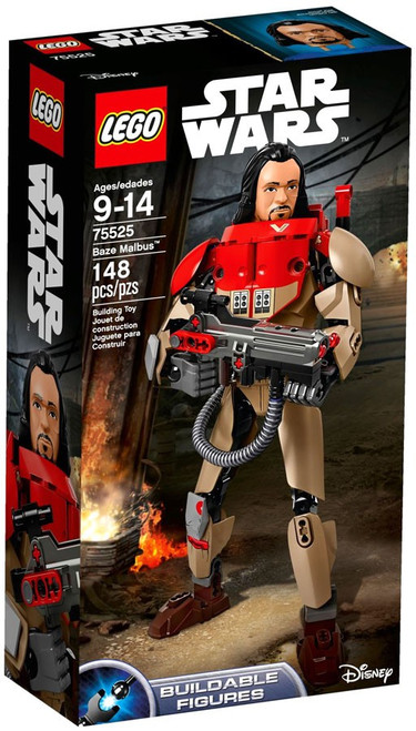 LEGO Star Wars Buildable Figure Baze Malbus Set #75525