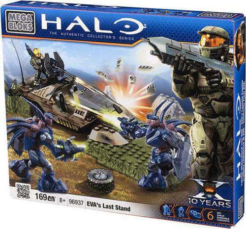 Mega Bloks Halo Eva's Last Stand Set #96937 [Damaged Package]