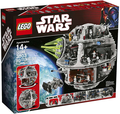 LEGO Star Wars Return of the Jedi Death Star Exclusive Set #10188 [Damaged Package]