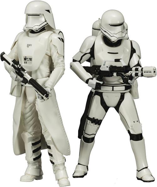 Star Wars The Force Awakens ArtFX+ Snowtrooper and Flametrooper Statue 2-Pack