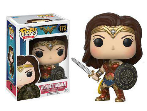 Funko DC Wonder Woman Movie POP! Movies Wonder Woman Vinyl Figure #172
