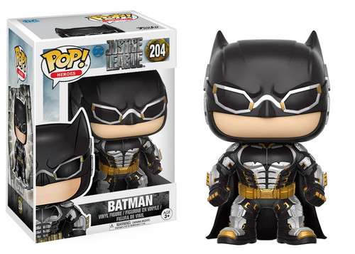 Funko DC Justice League Movie POP! Movies Batman Vinyl Figure #204 [Justice League]