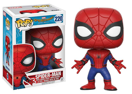 Funko Spider-Man: Homecoming POP! Marvel Spider-Man Vinyl Bobble Head #220 [Masked]