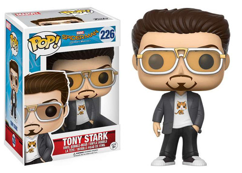 Funko Spider-Man: Homecoming POP! Marvel Tony Stark Vinyl Bobble Head #226 [Homecoming]