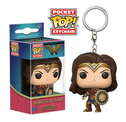 Funko DC Wonder Woman Movie Pocket POP! Movies Wonder Woman Keychain