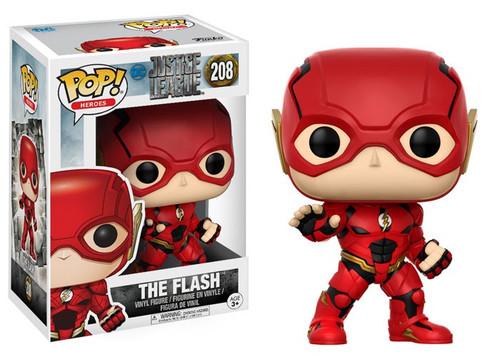 Funko DC Justice League Movie POP! Movies The Flash Vinyl Figure #208 [Justice League]
