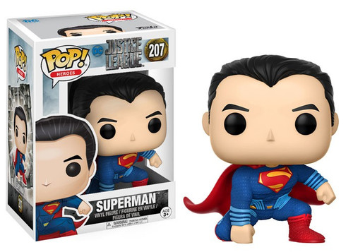 Funko DC Justice League Movie POP! Movies Superman Vinyl Figure #207 [Justice League]