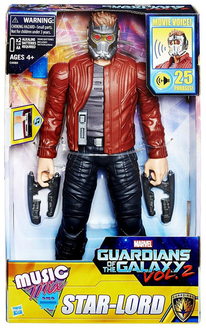 Marvel Guardians of the Galaxy Vol. 2 Music Mix Star-Lord Action Figure