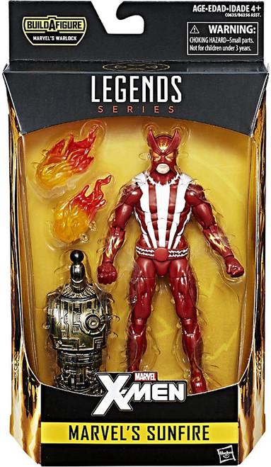 X-Men Marvel Legends Warlock Series Marvel's Sunfire Action Figure