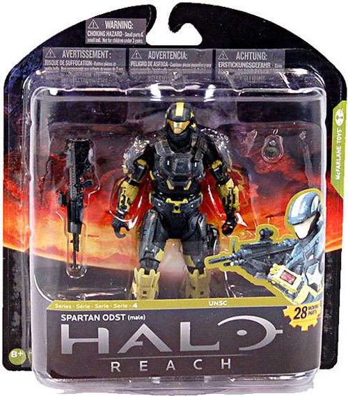 McFarlane Toys Halo Reach Series 4 Spartan ODST Exclusive Action Figure [Damaged Package]